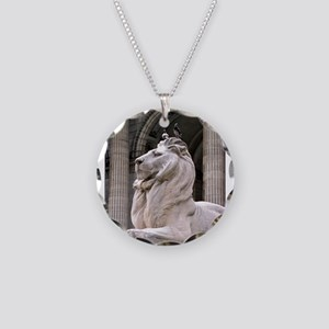 NY Public Library Lion: Fortitude Necklace