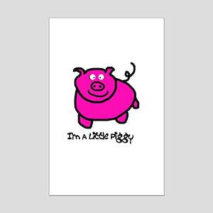 Senor Piggy Mini Poster Print
