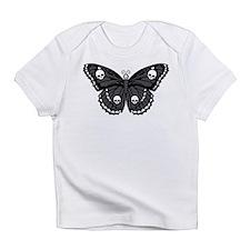 Gothic Skull Butterfly Infant T-Shirt