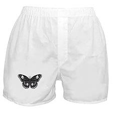 Gothic Skull Butterfly Boxer Shorts