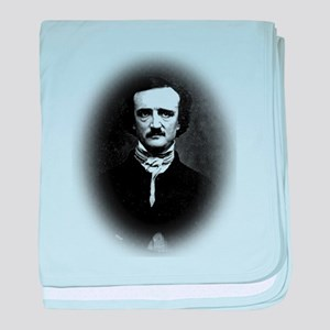 Halftone Poe baby blanket