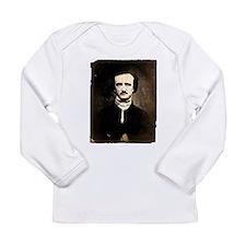 Vintage Poe Portrait Long Sleeve Infant T-Shirt