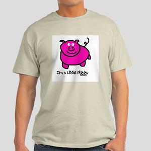 Senor Piggy Ash Grey T-Shirt