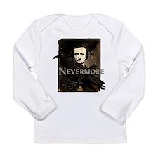 Poe Raven Nevermore Long Sleeve Infant T-Shirt