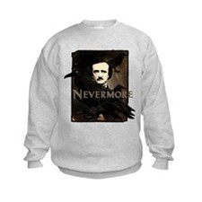 Poe Raven Nevermore Kids Sweatshirt
