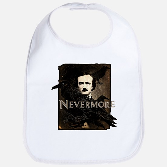 Poe Raven Nevermore Bib