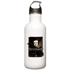 Poe Raven Nevermore Stainless Water Bottle 1.0L