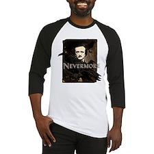Poe Raven Nevermore Baseball Jersey