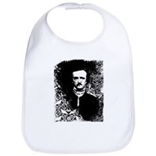 Poe On Raven Pattern Bib