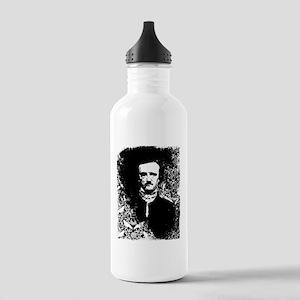 Poe On Raven Pattern Stainless Water Bottle 1.0L