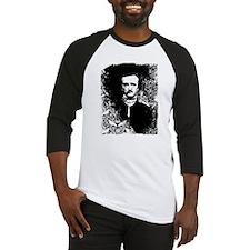 Poe On Raven Pattern Baseball Jersey