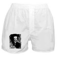 Poe On Raven Pattern Boxer Shorts