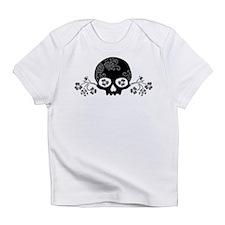 Skull With Flower Motif Infant T-Shirt