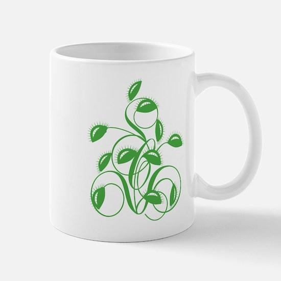 Stylized Carnivorous Plant Mug