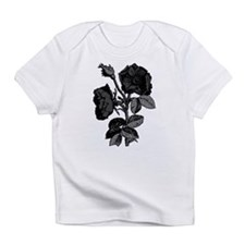 Gothic Black Roses Infant T-Shirt