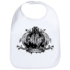 Gothic Crown Bib