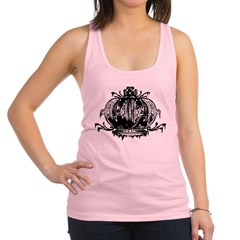 Gothic Crown Racerback Tank Top