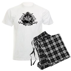 Gothic Crown Men's Light Pajamas