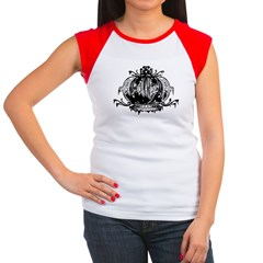 Gothic Crown Women's Cap Sleeve T-Shirt
