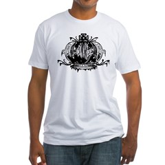 Gothic Crown Fitted T-Shirt