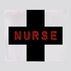 Evil Nurse Throw Blanket