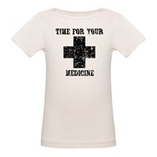 Time For Your Medicine Organic Baby T-Shirt