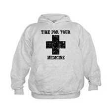 Time For Your Medicine Kids Hoodie