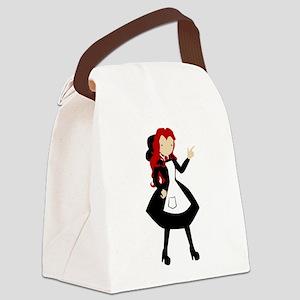 EGL Girl Canvas Lunch Bag