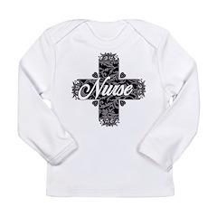 Gothic Nurse Long Sleeve Infant T-Shirt