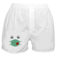 Hospital Mask Boxer Shorts