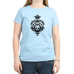 Gothic Skull Crest Women's Light T-Shirt