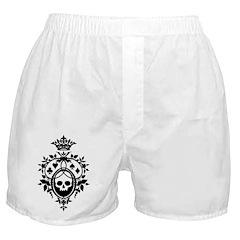 Gothic Skull Crest Boxer Shorts