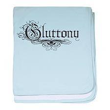 7 Sins Gluttony baby blanket