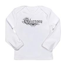 7 Sins Gluttony Long Sleeve Infant T-Shirt
