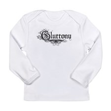 7 Sins Gluttony Long Sleeve Infant T-Shirt