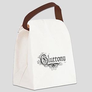 7 Sins Gluttony Canvas Lunch Bag