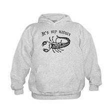 Scorpion It's My Nature Kids Hoodie
