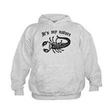 Scorpion It's My Nature Kids Hoodie