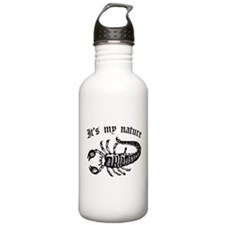 Scorpion It's My Nature Stainless Water Bottle 1.0