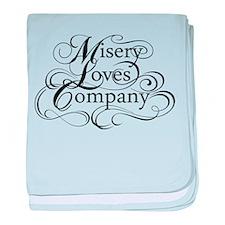 Misery Loves Company baby blanket