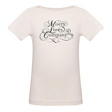 Misery Loves Company Organic Baby T-Shirt
