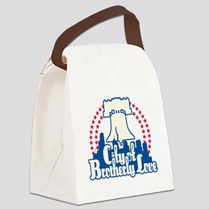 Brotherly Love Canvas Lunch Bag