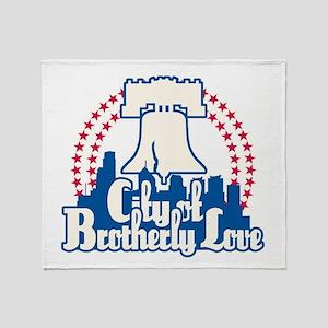 Brotherly Love Throw Blanket