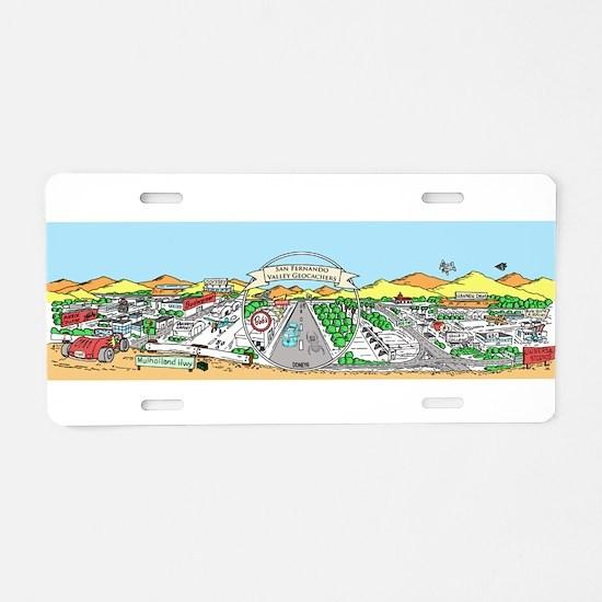 Cool Geocaching Aluminum License Plate