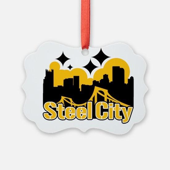 Steel City Ornament