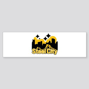 Steel City Bumper Sticker