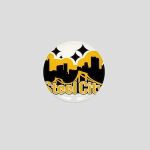 Steel City Mini Button