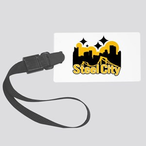 Steel City Luggage Tag