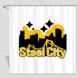 Steel City Shower Curtain