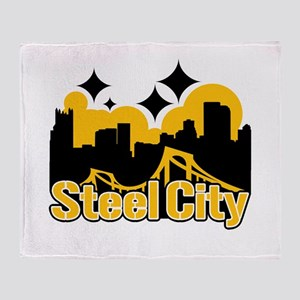 Steel City Throw Blanket